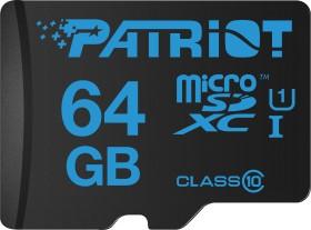 Patriot Instamobile R90 microSDXC 64GB Kit, UHS-I U1, Class 10 (PIF64GMCSXC10)