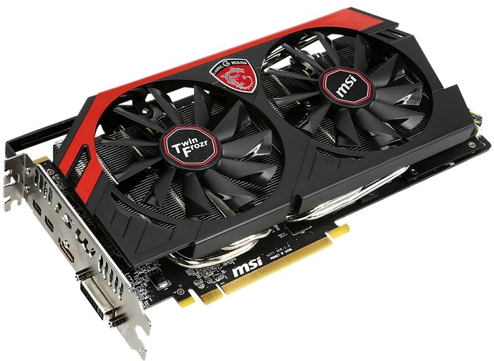 MSI R9 280 Gaming 3G, Radeon R9 280, 3GB GDDR5, DVI, HDMI, 2x Mini DisplayPort (V277-082R)