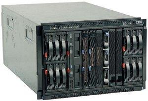 IBM BladeCenter S-Gehäuse, 7HE [verschiedene Ausstattungen]