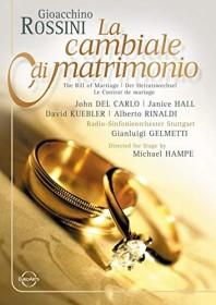 Gioacchino Rossini - La cambiale di matrimonio (DVD)