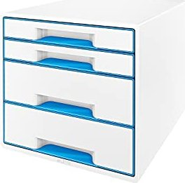 Leitz Wow Cube mit 4 Laden blau (52132036)