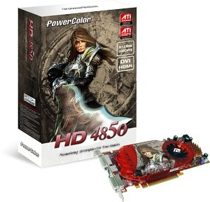 PowerColor Radeon HD 4850,  512MB DDR3, 2x DVI, TV-out, PCIe 2.0 (A77C-PE3)