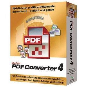 Nuance PDF Converter 4.0 (PC) (B309P-W00-4.0)