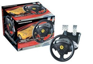 Thrustmaster 360 Modena Wireless Wheel (416027) (PS2)