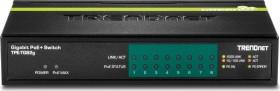 TRENDnet TPE-TG desktop Gigabit switch, 8x RJ-45, 61W PoE+ (TPE-TG82g)