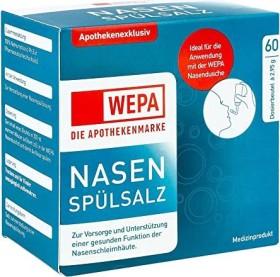 Wepa Nasenspülsalz, 177g (60x 2.95g)
