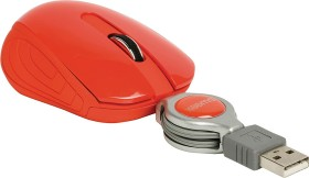 Sweex MI1080 Pocket Mouse London rot, USB (NPMI1080-03)