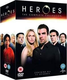 Heroes Box (Season 1-4) (DVD) (UK)