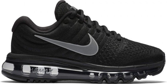 Nike Damen Wmns Air Max 2017 Traillaufschuhe, Schwarz (Black/White/Anthracite 001), 36 EU