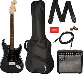 Fender Squier Affinity Series Stratocaster HSS Pack IL Charcoal Frost Metallic (0372821669)