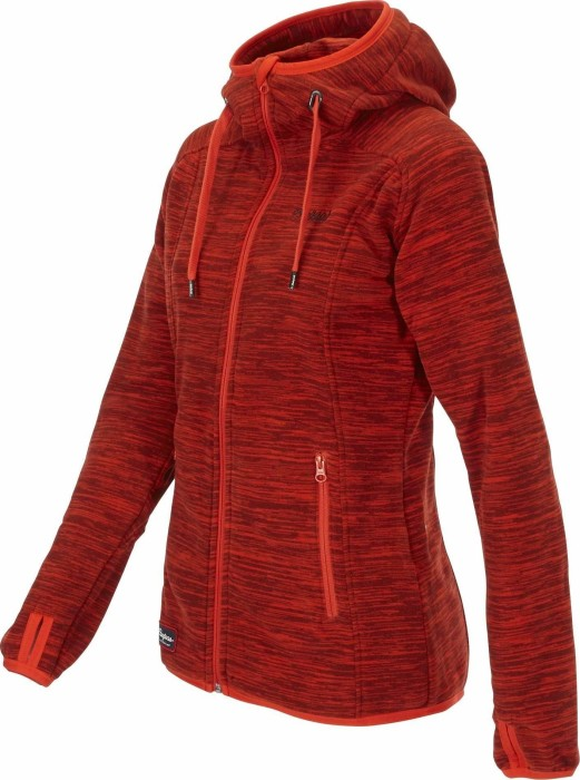 bergans damen hareid fleece jacke