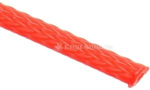 "Techflex Flexo PET 1/8""/3.2mm neon red, fabric tube (PTN0.13-NR) -- © caseking.de"