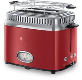 Russell Hobbs Retro toaster ribbon red (21680-56)