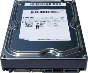 Samsung Spinpoint F1 RAID 750GB, SATA 3Gb/s (HE753LJ) -- provided by bepixelung.org - see http://bepixelung.org/202 for copyright and usage information