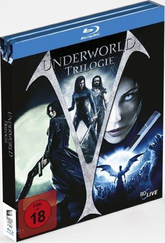 Underworld Trilogie Box (Blu-ray) -- via Amazon Partnerprogramm