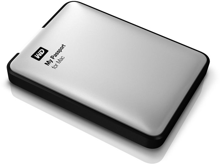 Western Digital WD My Passport for Mac 2TB, USB 3 0 micro-B