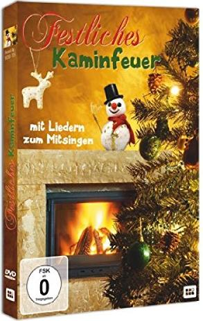 Festliches Kaminfeuer -- via Amazon Partnerprogramm