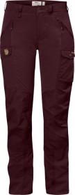 Fjällräven Nikka Curved pant long dark garnet (ladies) (F89638-356)