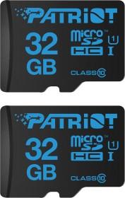 Patriot Instamobile R90 microSDHC 32GB Kit, UHS-I U1, Class 10, 2er-Pack (PIF32GMSHC10PK)
