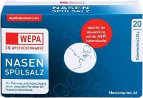 Wepa Nasenspülsalz, 59g (20x 2.95g)