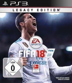 EA Sports FIFA Football 18 - Legacy Edition (PS3)