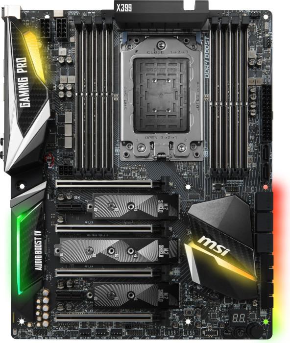MSI X399 Gaming Pro carbon AC (7B09-010R)