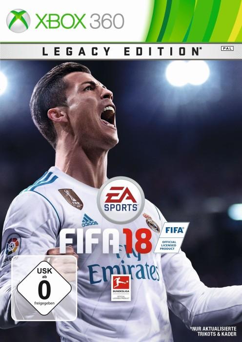 EA Sports FIFA Football 18 - Legacy Edition (Xbox 360)
