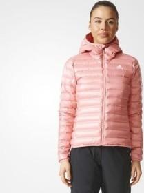 verse bien zapatos venta En liquidación Descubrir adidas Varilite Hooded Down Jacket tactile rose (ladies) (BQ1973 ...
