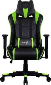 AeroCool AC220 AIR Gamingstuhl, schwarz/grün (AC220AIR-BG)
