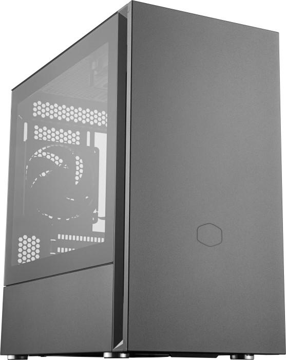 Cooler Master Silencio S400, Glasfenster, schallgedämmt (MCS-S400-KG5N-S00)