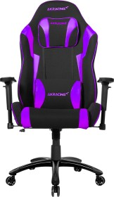 AKRacing Core Ex-Wide Indigo Special Edition Gamingstuhl, schwarz/violett (AK-EXWIDE-SE-IN)