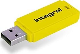 Integral Neon gelb 128GB, USB-A 2.0 (INFD128GBNEONYL)