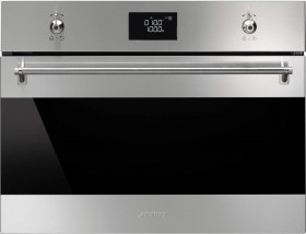 Smeg SF4390MCX oven with microwave