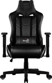 AeroCool AC220 AIR RGB gaming chair, black (AC22 AIR RGB/ACGC-2013111.11)