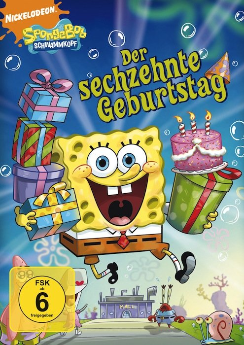 SpongeBob Schwammkopf - Der sechzehnte Geburtstag
