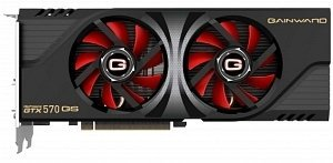 Gainward GeForce GTX 570 golden Sample 267mm, 1.25GB GDDR5, 2x DVI, HDMI, DisplayPort (1725)