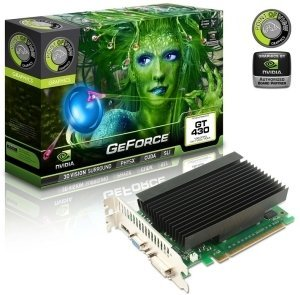 Point of View GeForce GT 430 Passiv, 1GB DDR3, VGA, DVI, HDMI (VGA-430-A7-1024-P)