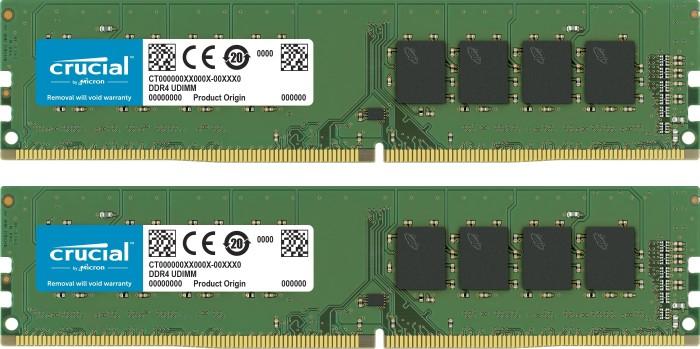 Crucial DIMM Kit 8GB, DDR4-2400, CL17 (CT2K4G4DFS824A)