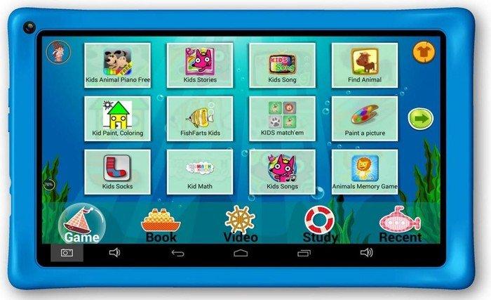 """AXXO Tablet für Kinder 10"""", blau (ST-215)"""