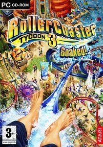 RollerCoaster Tycoon 3 - Soaked (Add-on) (German) (PC)
