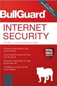 BullGuard Internet Security 2018, 3 User, 1 year, ESD (German) (PC)