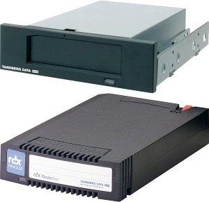 Tandberg RDX QuikStor Drive 80GB Kit schwarz 40-300GB, SATA (8411)