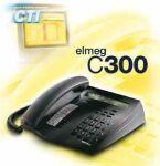 bintec elmeg C300 anthracite ISDN Comfort Phone, display 2x24 characters