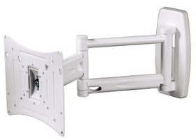 Hama LCD-Wandhalterung Fullmotion Ultraslim M (84470)