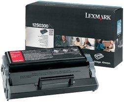 Lexmark Toner 12S0300 black