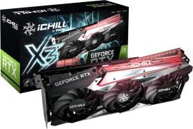 INNO3D GeForce RTX 3060 iChiLL X3 RED LHR, 12GB GDDR6, HDMI, 3x DP (C30603-12D6X-167139AH)