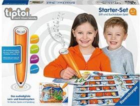 Ravensburger tiptoi Starter-Set: Stift und Spiel Buchstabenburg (00802)