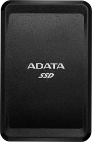 ADATA SC685 SSD schwarz 250GB, USB-C 3.1 (ASC685-250GU32G2-CBK)