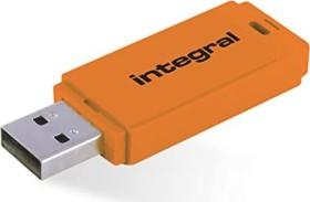 Integral Neon orange 128GB, USB-A 2.0 (INFD128GBNEONOR)