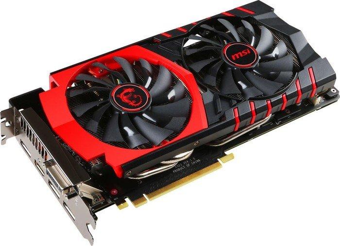 MSI GeForce GTX 980 Ti Gaming 6G, 6GB GDDR5, DVI, HDMI, 3x DP (V323-001R)